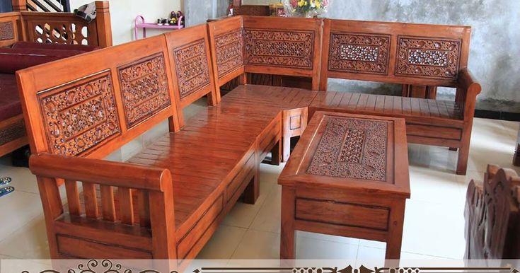 Set Kursi Tamu Sudut Minimalis murah inilah yang salah satu produk mebel berkualitas terbaik di jepara. tentunya karena menggunakan bahan kayu jati yang kering, jadi dijamin akan awet. dan yang terpenting adalah harganya juga murah