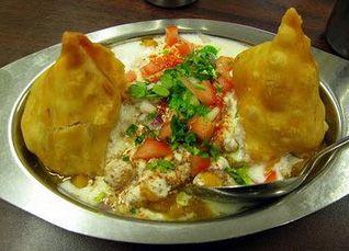 How to Prepare Samosa Chat, English / Urdu Recipe