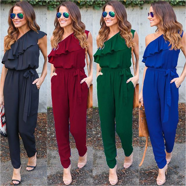 Low Price $8.21, Buy New Fashion Summer Women Ladies Clubwear Playsuit Bodycon Party Jumpsuit Romper Trousers New Women Sexy Clothes