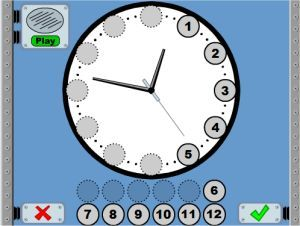 Time Telling Practice Game...get those telling time skills perfected with this great game!