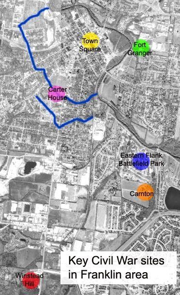 Best Maps United States Images On Pinterest Civil Wars - Franklin on us map