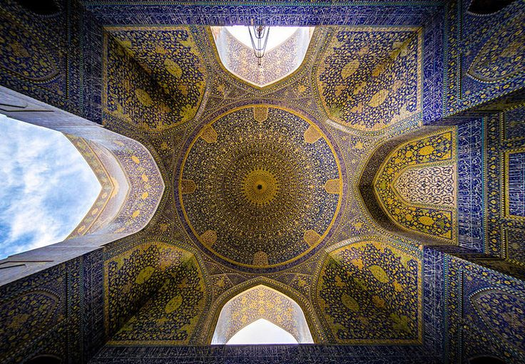 Religious Ceiling Photography : Mohammad Domiri