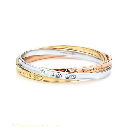 Tiffany  Co Outlet 1837 Interlocking Circles Bangle [ TC06383] - $51.00 : Tiffany Outlet