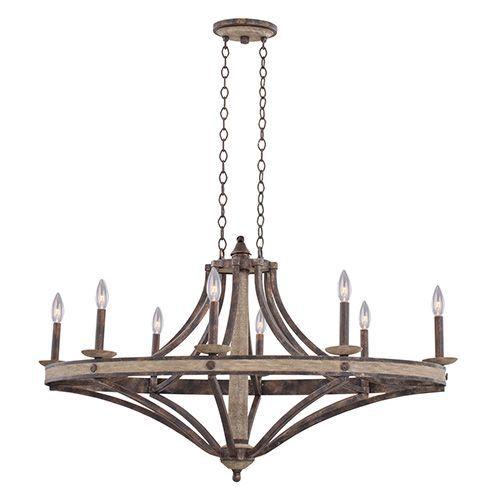 Kalco lighting coronado florence gold 44 inch wide eight light chandelier