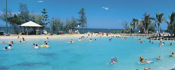 The Lagoon at Redcliffe - a great place to cool off!