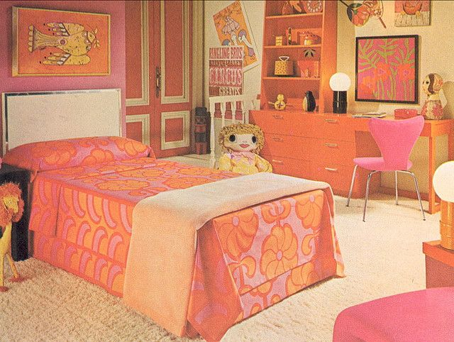 1000 Images About 1970s Bedroom On Pinterest Childs