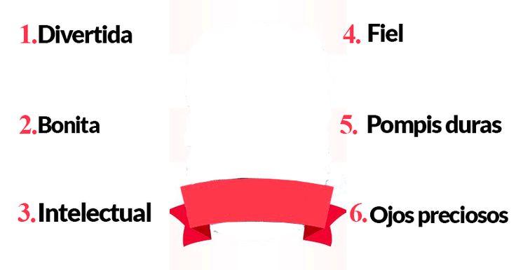 ¿Cuáles son tus 6 cualidades?