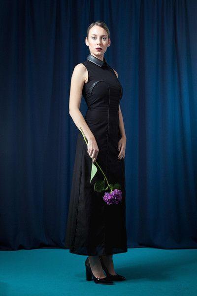 Abendkleider - Langes ärmelloses Kleid aus Bio-Baumwolle - elegante faire Mode von House of Wolf - über DaWanda erhältlich   elegante Abendmode Damen, elegante faire Mode, elegante Abendmode für festliche Anlässe, faire Damenmode aus Deutschland