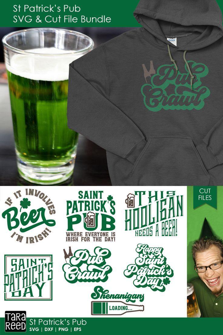 14+ St. Patrick's Day Svg Irish Pub Svg Cut File SVG