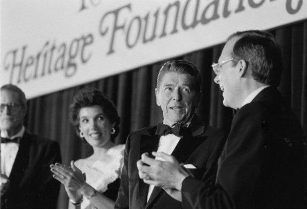 How the Heritage Foundation went from the intellectual backbone of the conservative movement to the GOP'sbane—and how it's hurting the party's hopes for a turnaround