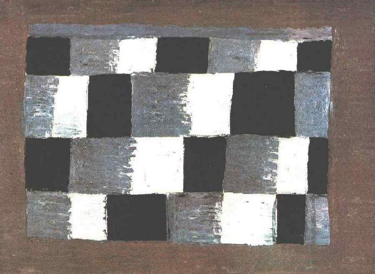 В темпе три четверти, 1930. Пауль Клее