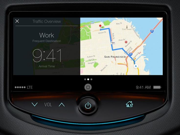 iOS 7 - in the car
