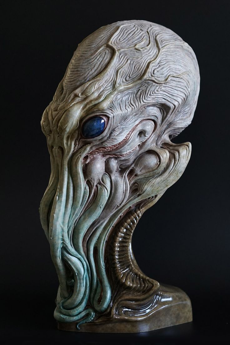 Cthulhu Sculpture by Dominic Qwek   Creatures   3D   CGSociety