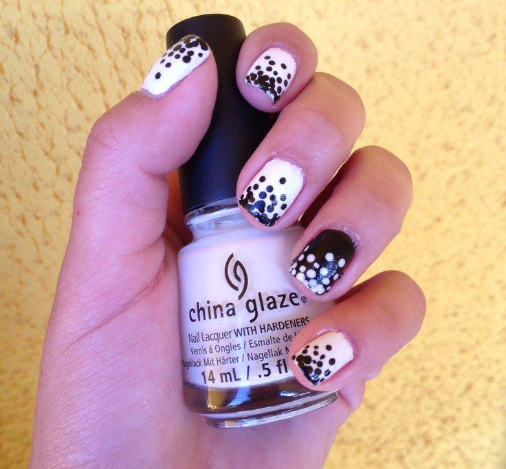 Blac&White Nails