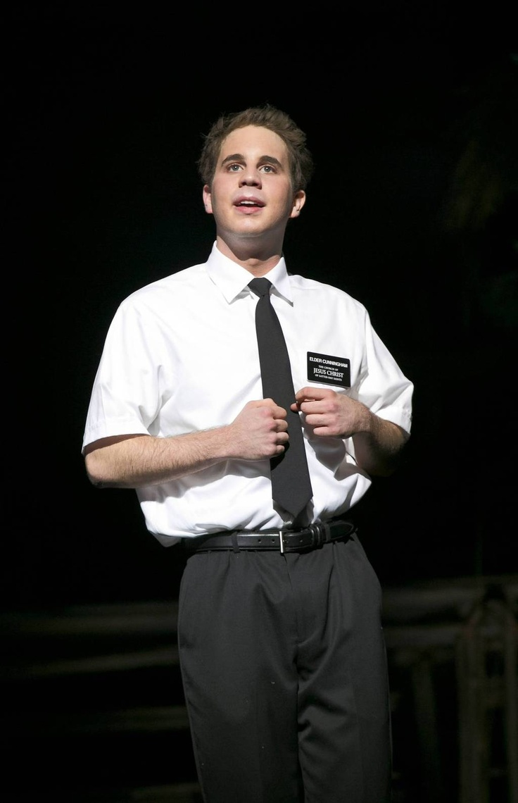 Ben Platt in The Book of Mormon National Tour. He was incredible! See it in San Diego May 27-June 8, 2014