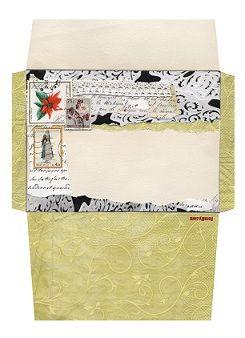 Free Christmas Envelope Template