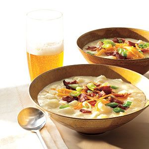 Loaded Potato Soup Recipe - -Cooking Light