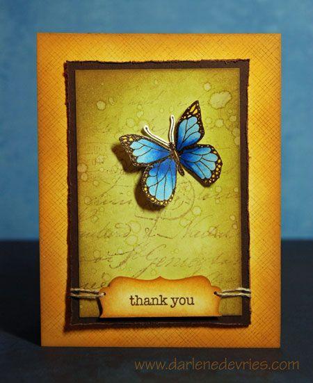 Pretty colors!Beautiful Butterflies, Backgrounds Techniques, Blog Tutorials, Hero Arts, Distress Ink, Alcohol Inks, Butterflies Cards, Backgrounds Cards, Beautiful Backgrounds