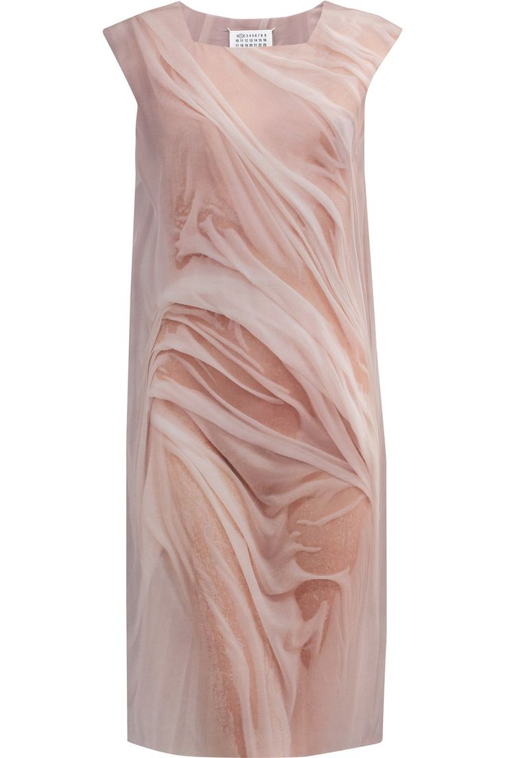 Shop on-sale Maison Margiela Printed silk-crepe dress. Browse other discount designer Dresses & more on The Most Fashionable Fashion Outlet, THE OUTNET.COM