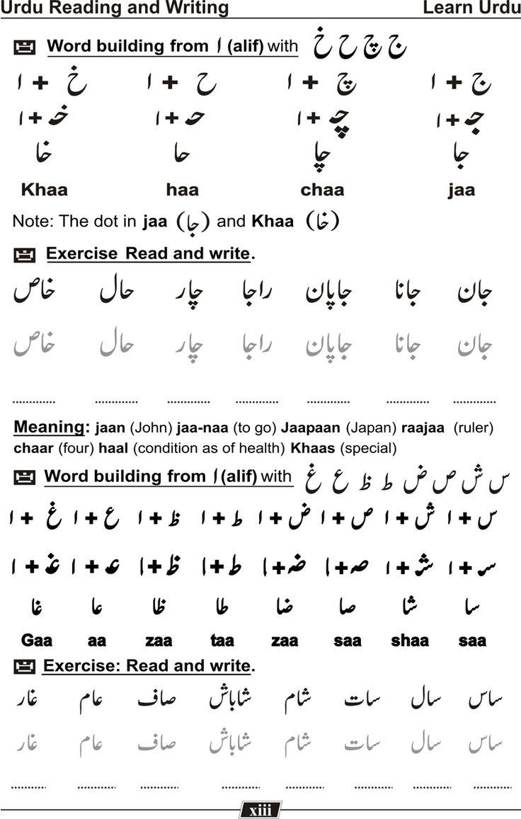 Learn Urdu Language