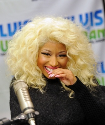 A giggly Nicki Minaj visits #Z100 Studio in #NYC on November 21, 2012  http://celebhotspots.com/hotspot/?hotspotid=26502&next=1