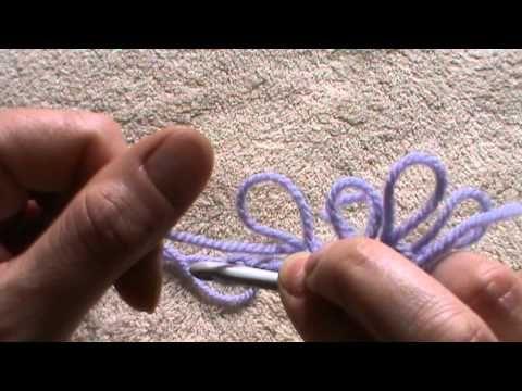 Tutorial: punto pelliccia ( aumenti & diminuzioni) - YouTube
