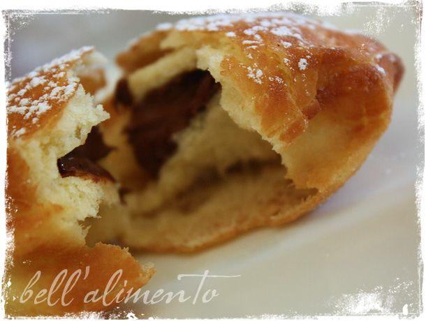 Bombolini alla Nutella {Nutella filled Doughnuts   Donuts ...