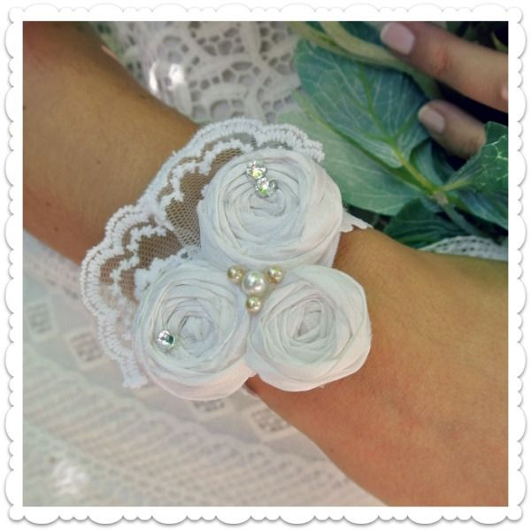"""Eternal Love"" Bridal corsage • Νυφικό κορσάζ by ""Bella"