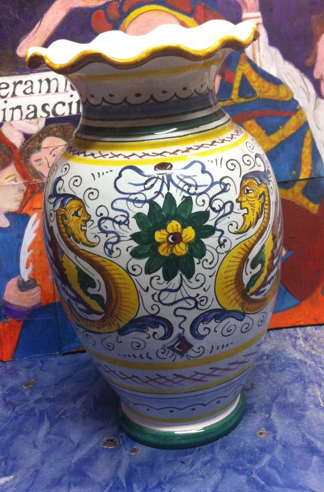 Vaso Raffaellesco   Ceramiche Rinascita