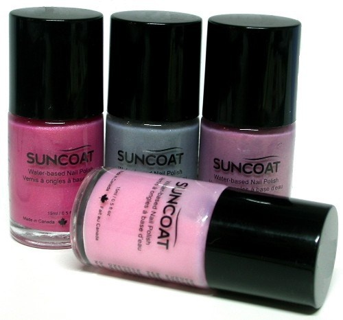 Suncoat nail polish- water based/not toxic