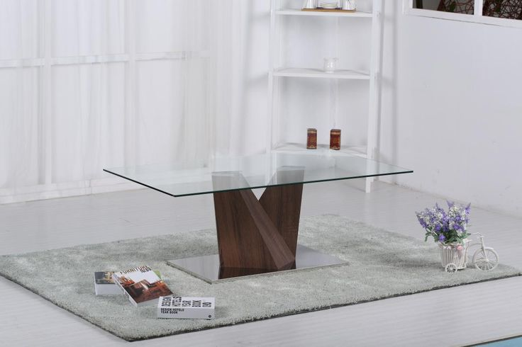 Brand new item Glass Coffee Tabl... available to buy at http://discountsland.co.uk/products/glass-coffee-table-with-walnut-base?utm_campaign=social_autopilot&utm_source=pin&utm_medium=pin. Get #discounts on #furniture #homedecor