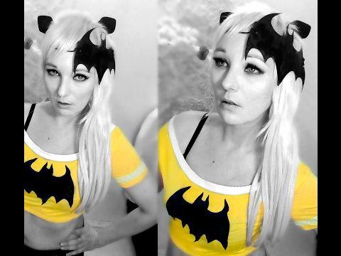 Бэтмен Batman Косплей Девушка Макияж Образ для фотосессии Идеи Супергеро...