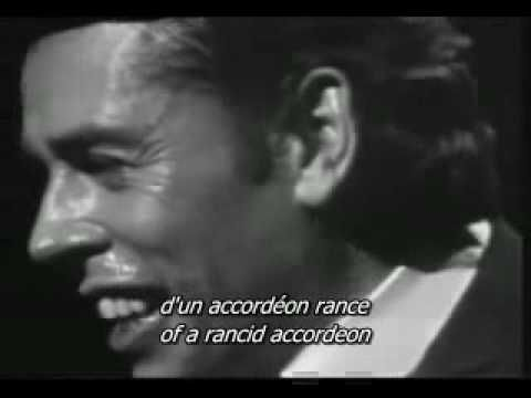 Dans le Port d Amsterdam Jacques Brel english and french subtitles