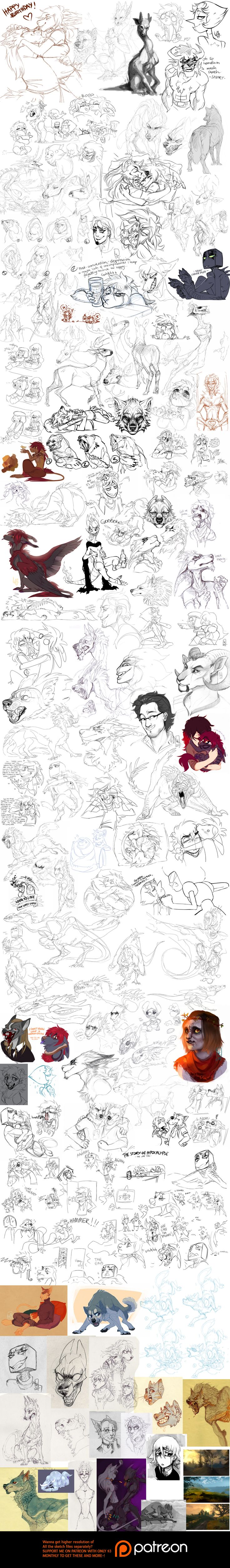 Sketch dump 61 by LiLaiRa on DeviantArt