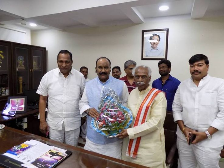Met Shri Naini Narshimha Reddy, Home Minister Govt of Telangana and wished him on his birthday.