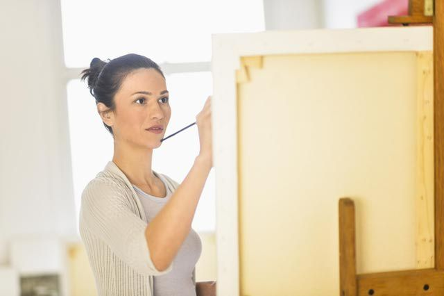 How to Hide Painting Mistakes in an Acrylic or Oil Painting