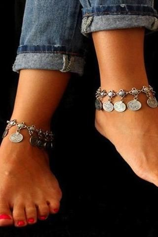 Charming Coins Anklet