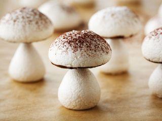 Hoja de impresión de Champiñones de merengue (Meringue mushrooms)