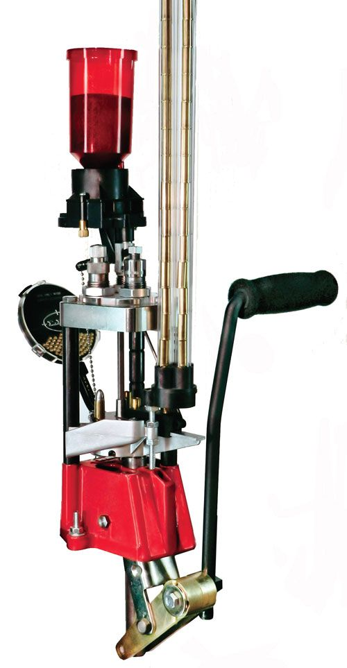 LEE PRO 1000 Progressive Reloading Press Relaxing & money saver too if you shoot very much.