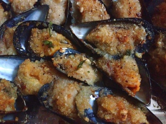 Ricetta Antipasto : Cozze gratinate da SweetAngel