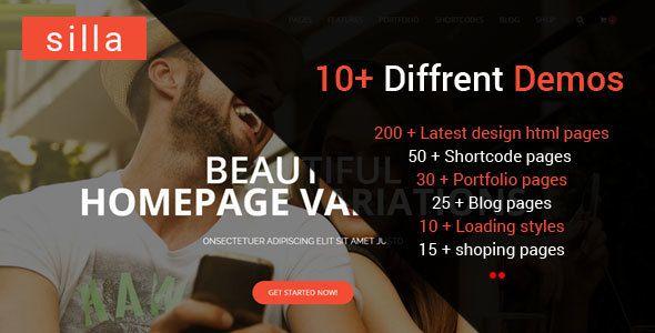 cool Silla   Multi-Objective HTML5 Template (Business enterprise)
