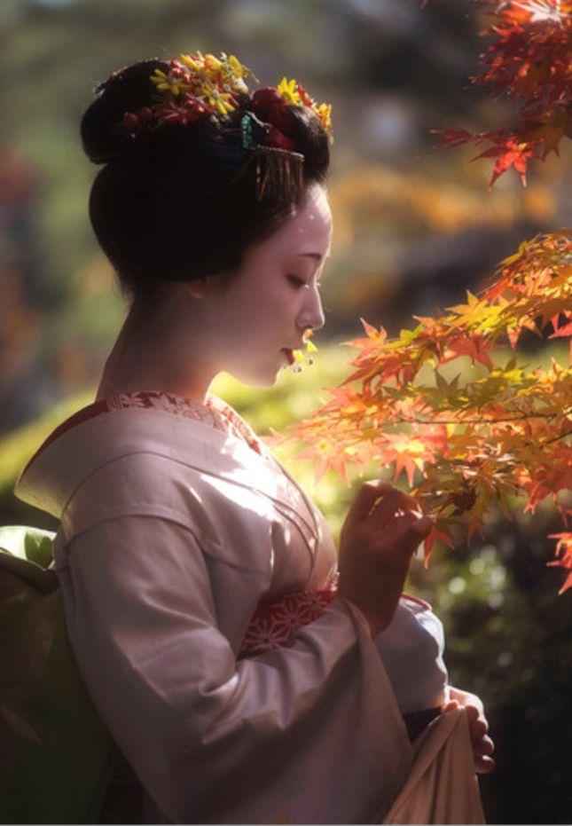 Maiko, Mamefuji. Kyoto. Japan. #geisha #maiko #japanese culture