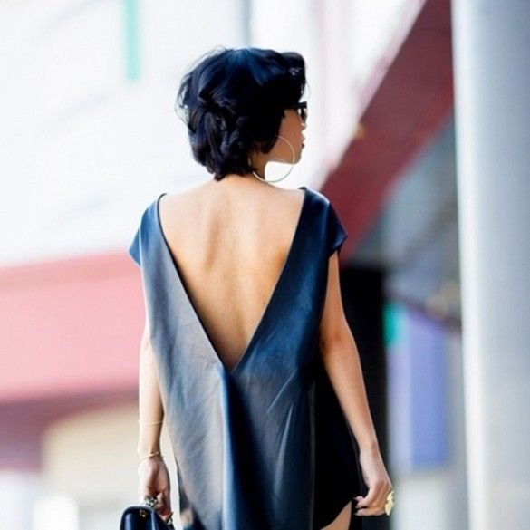 Inspiring Street Style Outfits To Try For Summer via @Who What Wear Nininguyen is wearing: Nini Nguyen shirt.