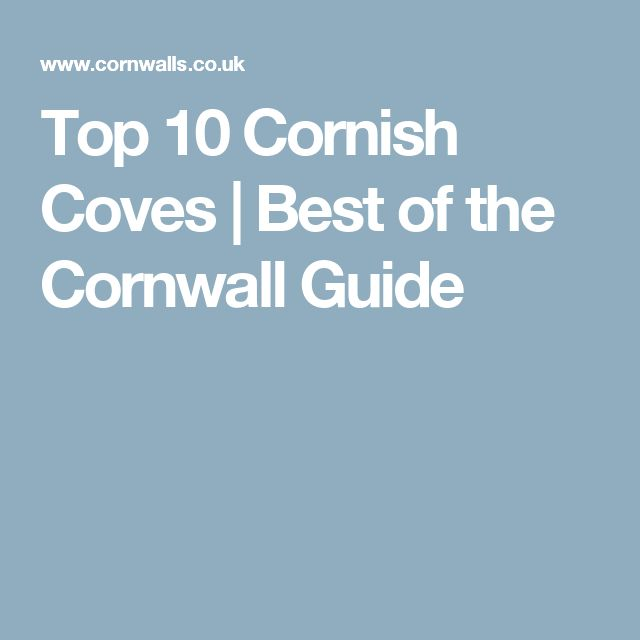 Top 10 Cornish Coves | Best of the Cornwall Guide