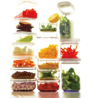 Prep Once, Eat Healthy all week. Detailed grocery, prep and recipe plan for a week.