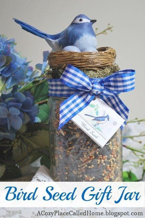 craft ideas from jars   Mason Jar Gift Idea!   Craft ideas - jars