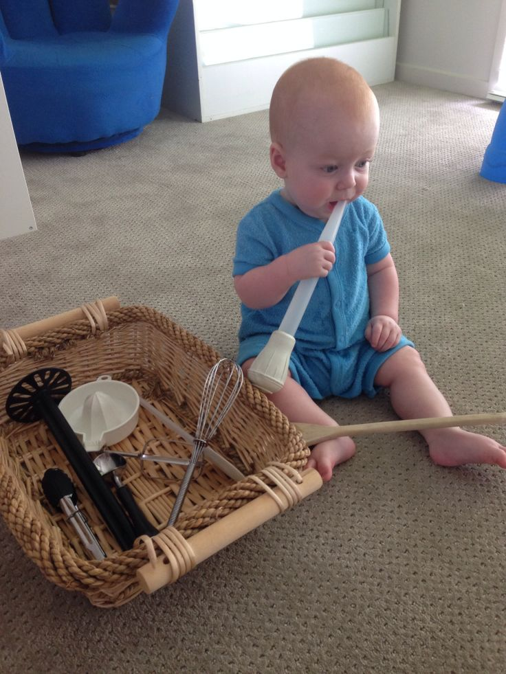 82 Best Toddler Discovery Baskets Images On Pinterest Sensory Activities Baby Games And Bread