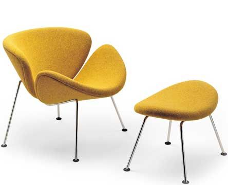 Pierre Paulin's Orange Slice Chair