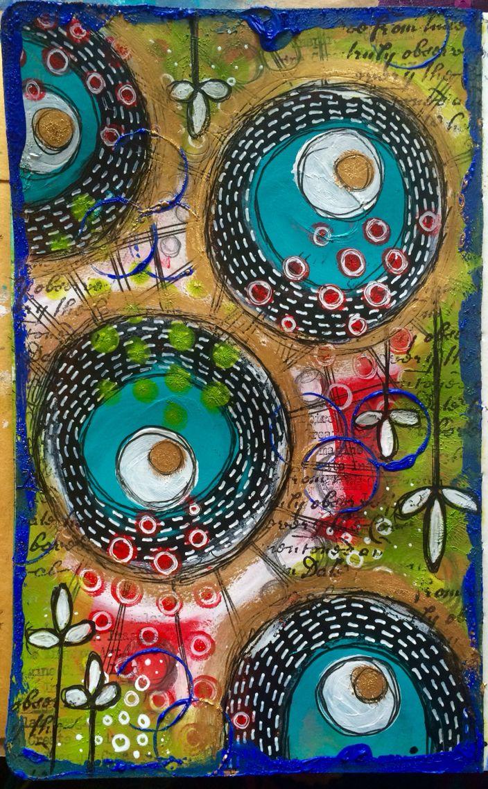 Color circle art publishing - Feel Like I M Slowly Getting My Mojo Back Art