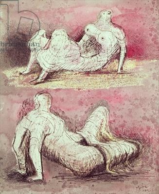 Reclining Figures (1944) Henry Moore